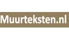 Muurteksten.nl logo kortingscode actiecode promotiecode